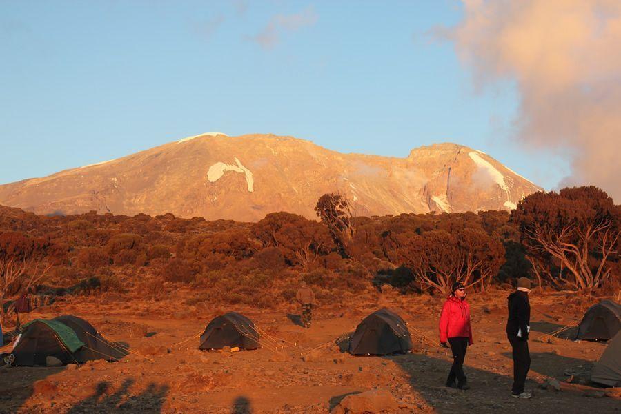 campement trekking kilimandjaro
