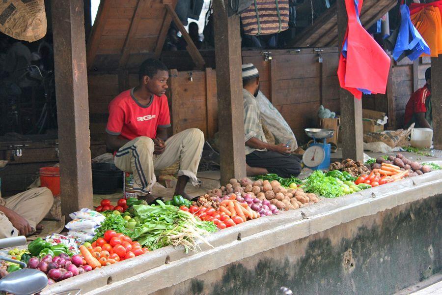 marché Tanzanie Zanzibar