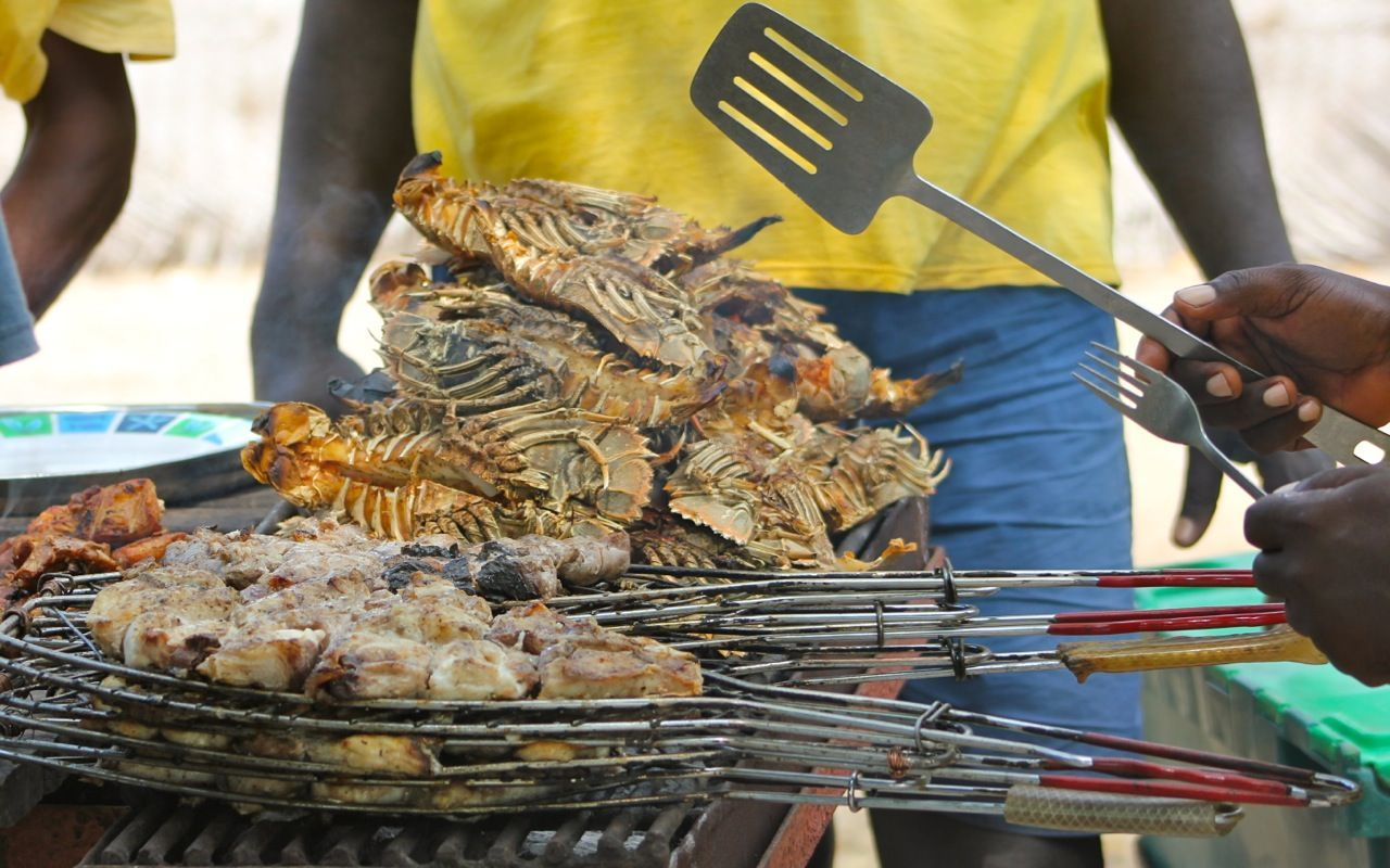 crustacés Zanzibar