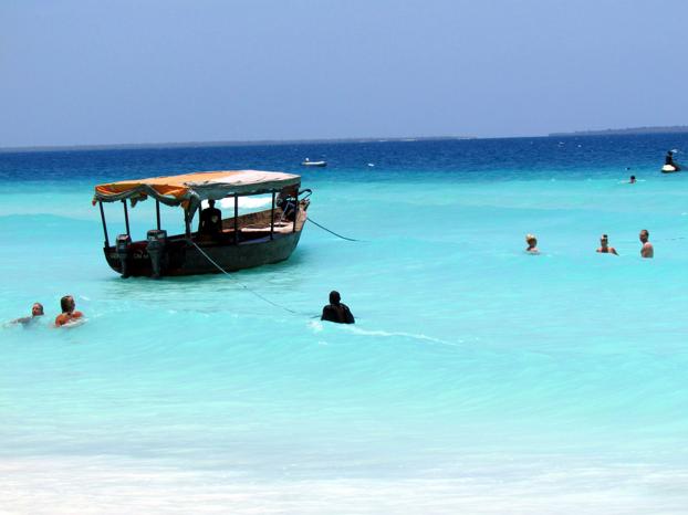 baignade Zanzibar